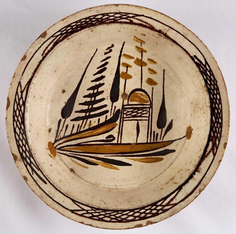 Βαθύ πιάτο Τσανάκκαλε. Συλλογή Κ.Μ.Ν.Κ.